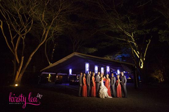 Flames of the Forest: Private wedding receptions