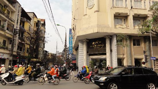 Star View Hotel: 正面入口