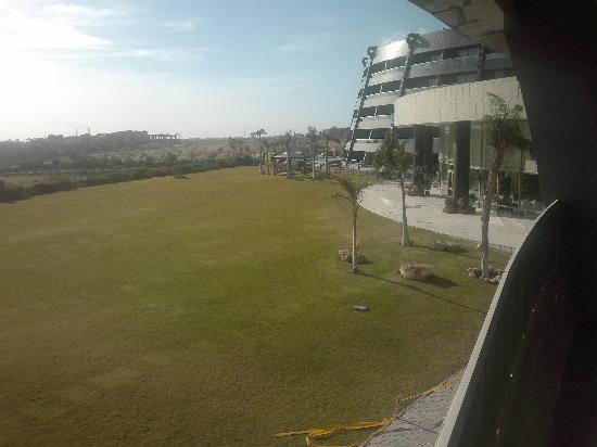 Radisson Blu Hotel, Alexandria: garden