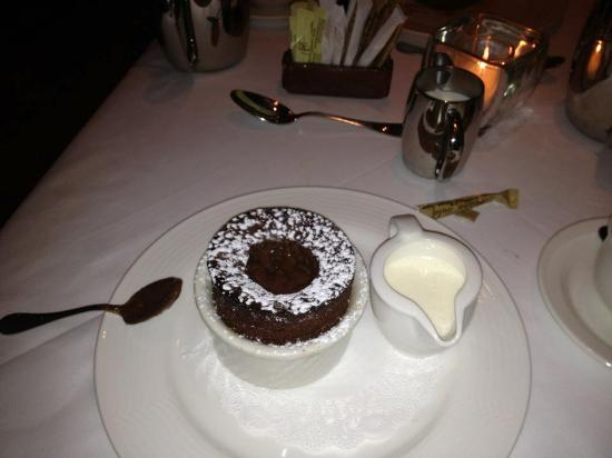 Second Empire Restaurant : Chocolate Souffle