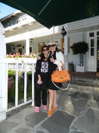 Hotel Panamonte : Entrada del Hotel-Restaurante