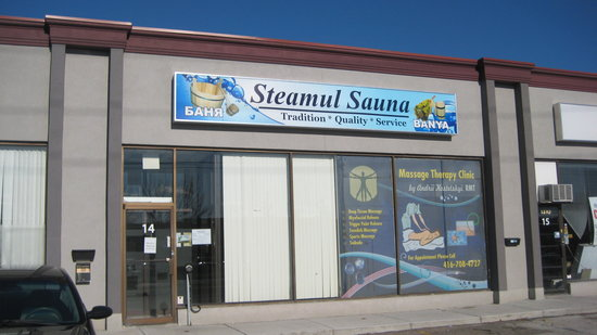Mississauga, Canadá: Steamul Sauna