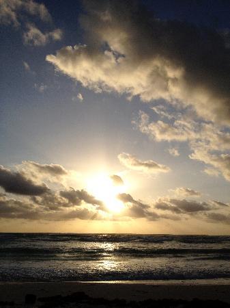 My Tulum Cabanas: Sunrise from My Tulum :)