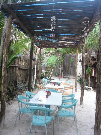 My Tulum Cabanas: Perfect spot for morning coffee and conversation.