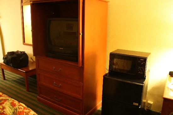 Econo Lodge: Tv, microwave, mini-fridge - sweet deal!