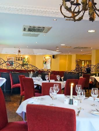 Season's Restaurant: Table Plan