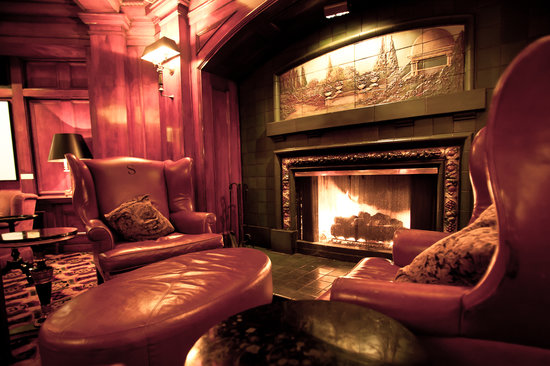 Fireside Room At The Sorrento Hotel Seattle Downtown
