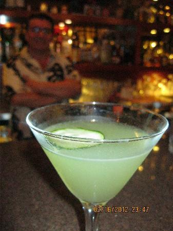 Senor Puck's Bar & Grill: Cucumber martini.. the very best!