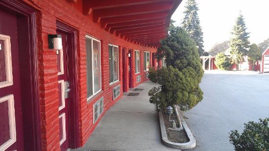 Avenue Motel : outside view