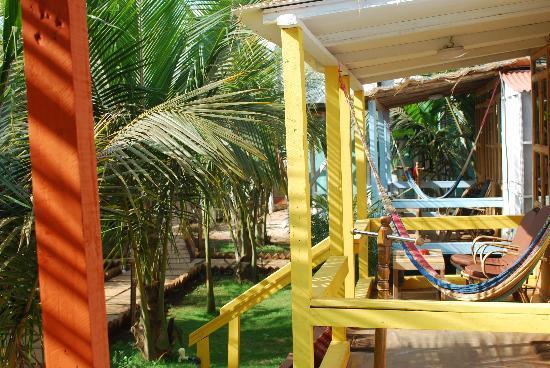 Cuba Premium Beach Huts: Beach huts at Cuba Patnem