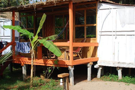 Cuba Premium Beach Huts: Our room!