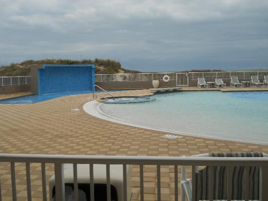 Hilton Garden Inn South Padre Island: Pool from room