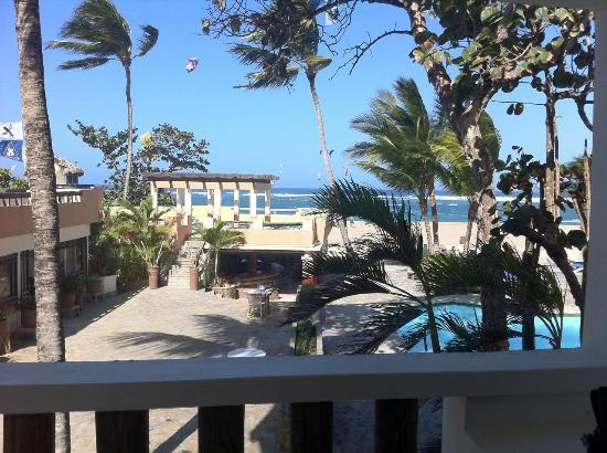 Hotel Kite Beach: Room 201 with this sea view