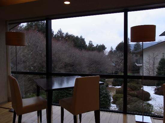 Shiki Resort Gora Saika : 食堂(朝・夕食はここで)