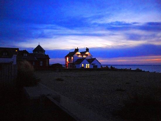 Whitstable, UK : An evening in winter