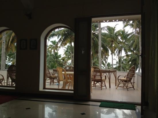 Thiruvambadi Beach Retreat: Breakfast and Yoga place