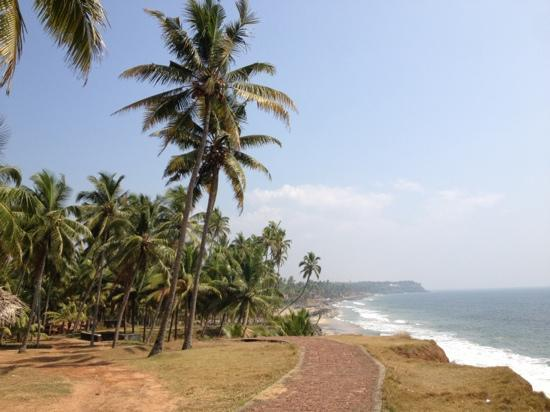 Thiruvambadi Beach Retreat: Behind the black beach inching to north