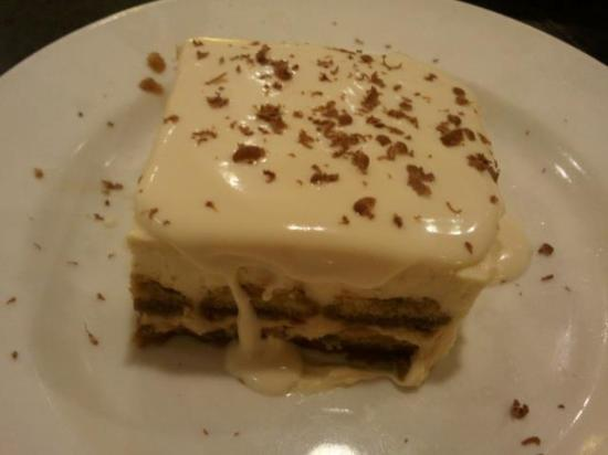 California Pizza Kitchen Dessert dessert..soft tiramisu - picture of california pizza kitchen guam