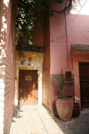 Riyad Al Moussika: The door to the riad