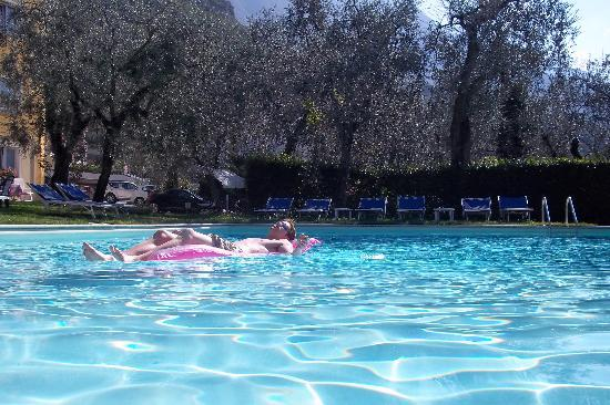 Hotel Augusta: Lovely garden