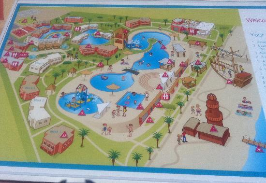 Coral Sea Holiday Village: Holiday Village Map