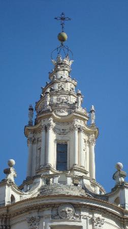 Chiesa di Sant'Ivo alla Sapienza: Cupola con lanterna