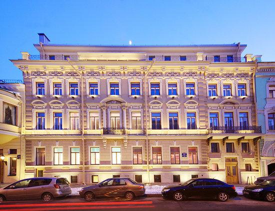 Domina Prestige St.Petersburg: Bolshaya Morskaya street view