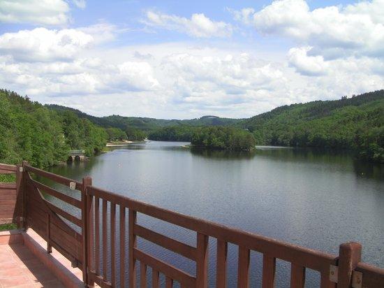Hôte du Lac : vue de la chambre