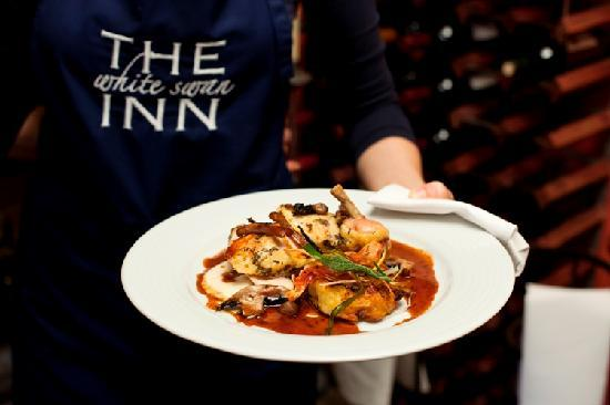 The White Swan Inn: Fantastic food, locally sourced from Yorkshire's best ingredients, simply cooked and presented