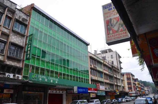 Central Hotel Sandakan: 外観です