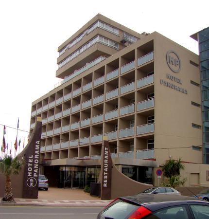 Hotel Panorama: Entrada