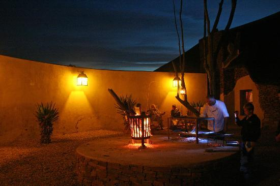 Zandibela Private Game Lodge : Chef Willem's braai, yummy!