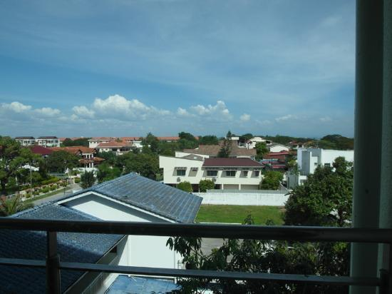 Golden View Serviced Apartments: calm view from balcony