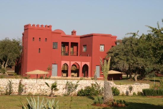 Domaine de l'Arganeraie : villa-riad 12 personnes