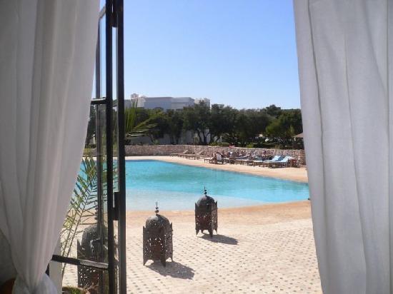 Domaine de l'Arganeraie : vue du pool house