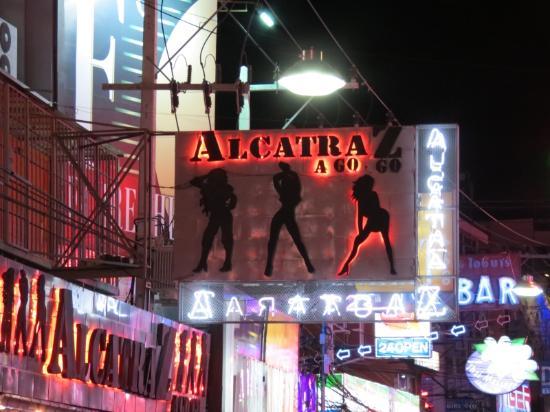 Walking Street Pattaya: Alcatraz Go-Go Bar