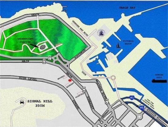 Sugar Hotel & Spa: Map