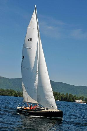 Sailing on our custom CIL 30's
