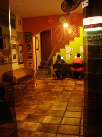 Bamboo Rio Hostel: recepção