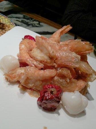 Na Jia Restaurant (Yong'anli): Delicious prawns