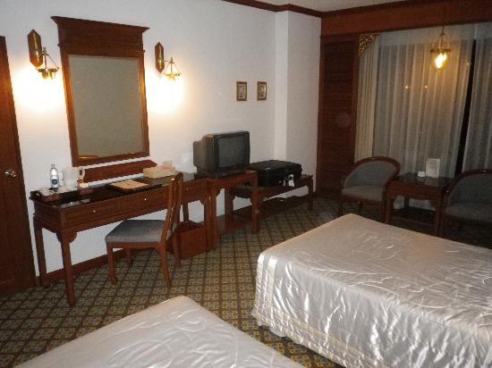The Park Hotel: La chambre