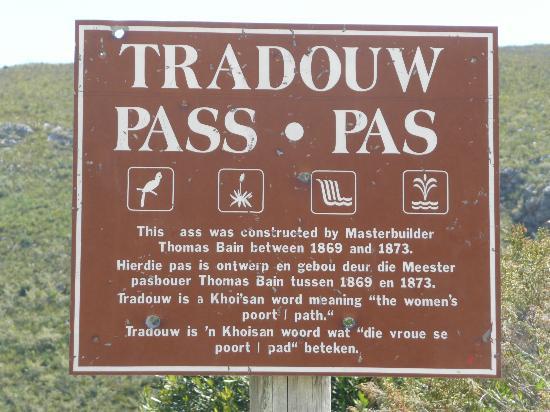 The Tradouwspass: tradouw pass
