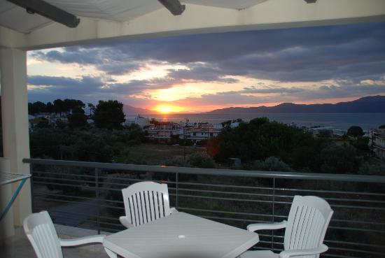 Anemos Studios : Utsikt från balkongen