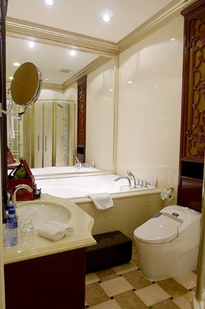 Pei Mansion Hotel: Bathroom