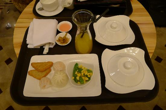 Pei Mansion Hotel: Chinese breakfast