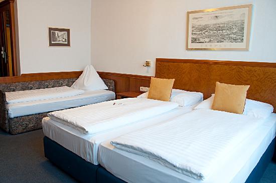 Austria Classic Hotel Wien: triple room
