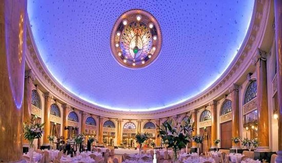 Esplanade Zagreb Hotel Emerald Ballroom Wedding