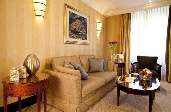 Esplanade Zagreb Hotel Deluxe Room Detail