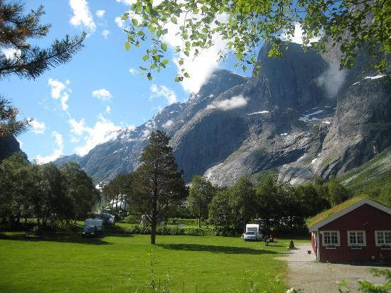 Trollveggen Camping: The Troll Peaks