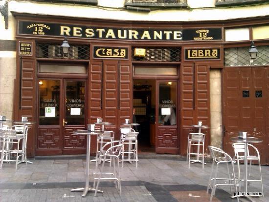 Fachada Y Terraza Casa Labra Picture Of Casa Labra Madrid